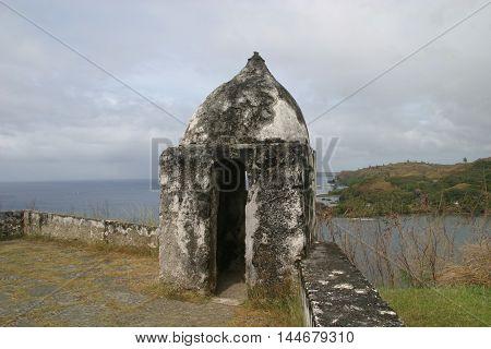 Fort Nuestra Señora de la Soledad a Spanish on Guam