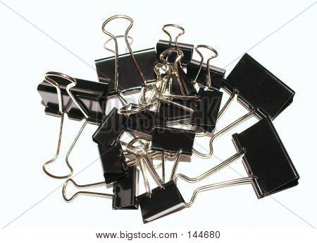 Binder Clips Pile