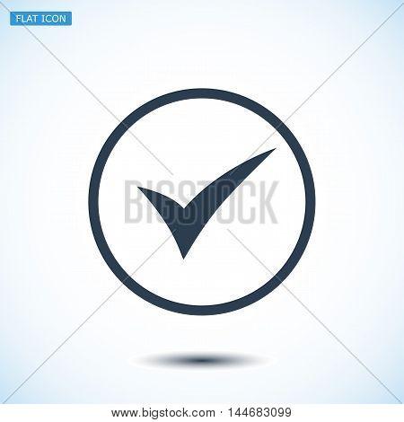 Ok Vector Icon