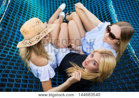 Three Beautiful Blondes