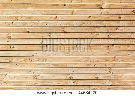 Horizontal new wood plank wall texture background