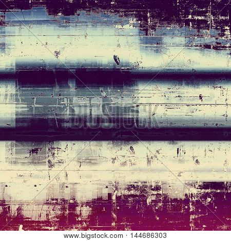 Scratched grunge background or spotted vintage texture. With different color patterns: gray; blue; purple (violet); yellow (beige); white; pink