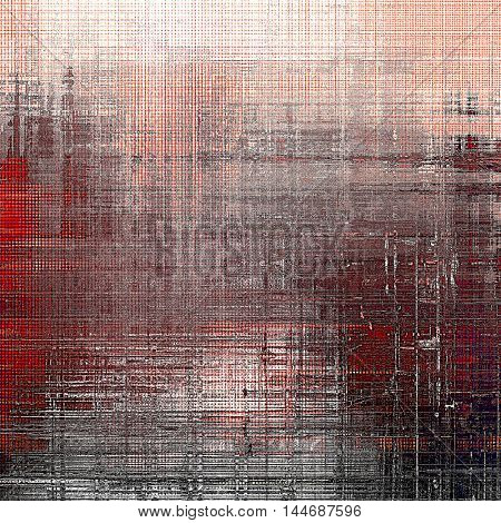 Old background with grunge decorative elements. Retro composition for your design. With different color patterns: gray; red (orange); purple (violet); brown; black; pink