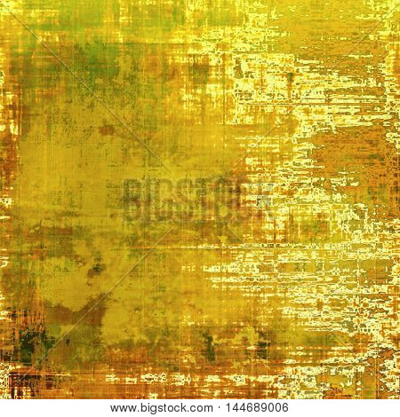 Art vintage texture for background in grunge style. With different color patterns: gray; green; red (orange); yellow (beige); brown