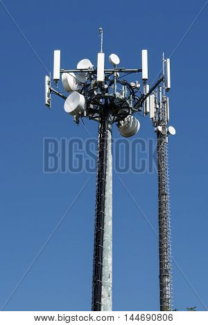 radio link for wireless communication in the blue sky