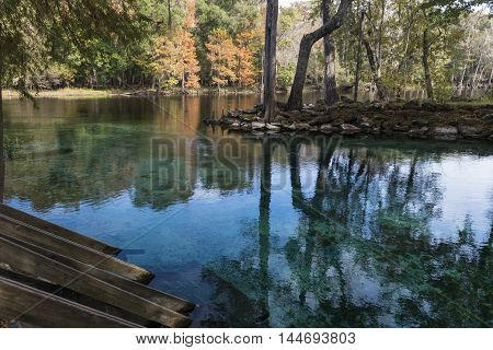 River Santa Fe United States National Park Florida