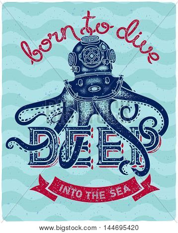 Octopus Diver 01