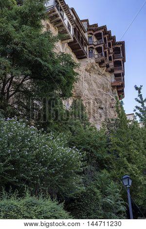 Hanging houses (Casas Colgadas) in Cuenca Castilla La Mancha Spain