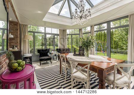Creative Modern Sunroom