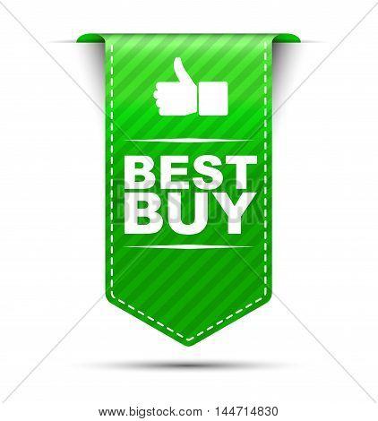 This is green vector banner design best buy