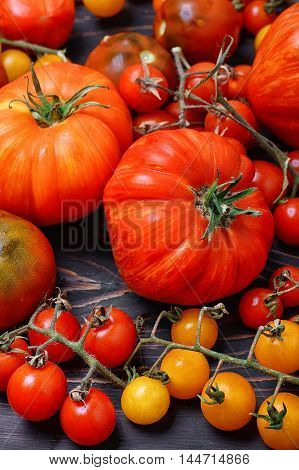 Assortment Of Fresh Tomatoes
