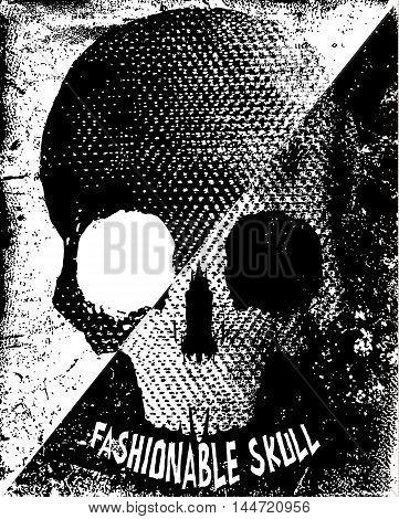 Skull T shirt Graphic Design fashion style