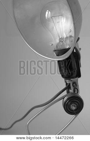 die Close up Foto von der alten droplight