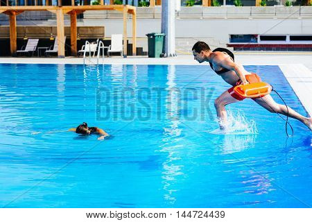 Lifeguard Rescue Training