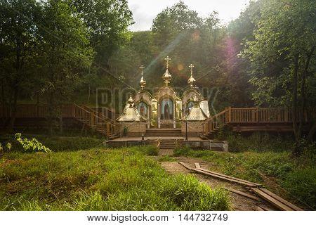 Holy Spring St. Sergius Of Radonezh Of  Trinity Sergius Lavra
