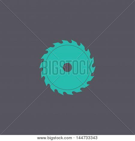 Circular Saw Blade, Vector