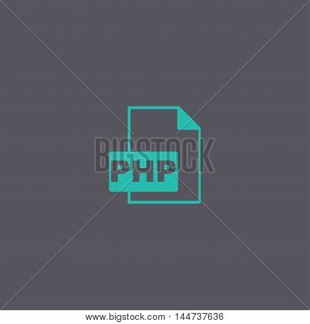 Php File Extension. Concept Illustration For Design