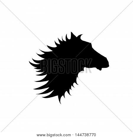 Horse Head / Silhouette of a horses head