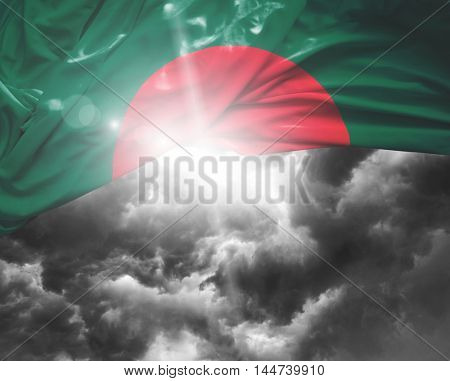 Bangladesh flag on a bad day