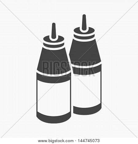 Sauce vector illustration icon in simple design