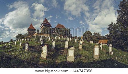 Viscri Fortified Church And Graveyard, Romania