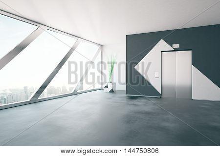 Elevator In Interior Side