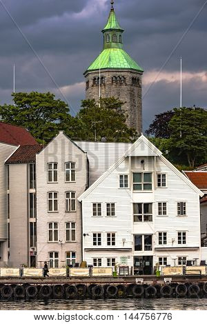 Daily Life On Stavanger, Norway