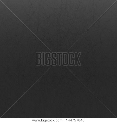 dark gray background with imitation scratches. vector