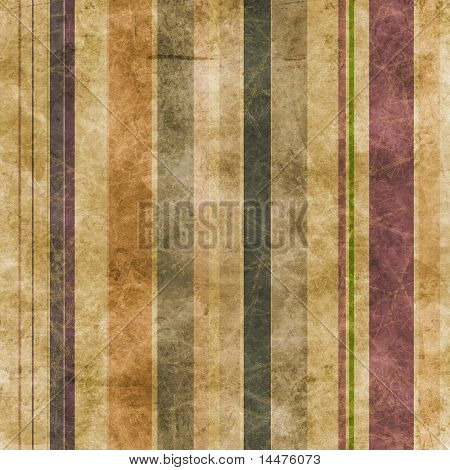 Abstract grunge lines on a brown paper background