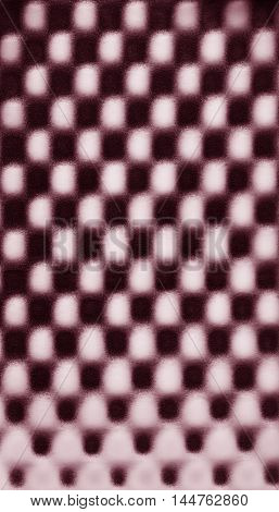 Pink abstract foam chess pattern texture background