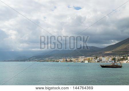 The Mediterranean Coast On Crete
