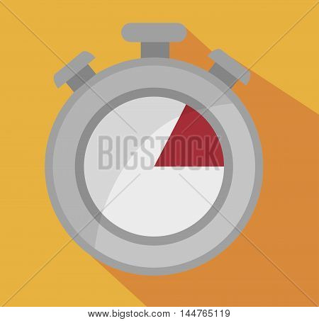 timer chronometer  icon vector illustration design eps10