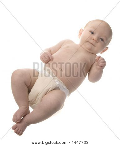 Full Body Baby In Diaper