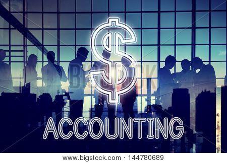 Saving Cash Flow Accounting Money Icon Concept