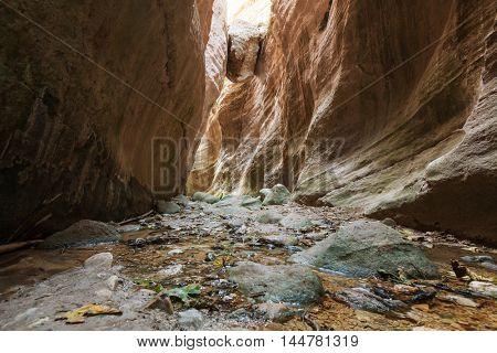 Avakas Gorge. Paphos District, Cyprus