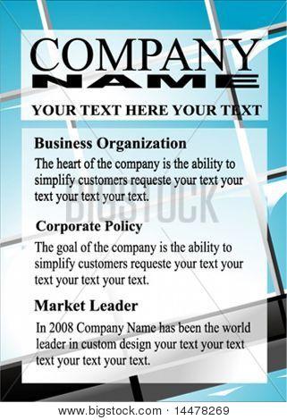 VECTOR Business presentation template