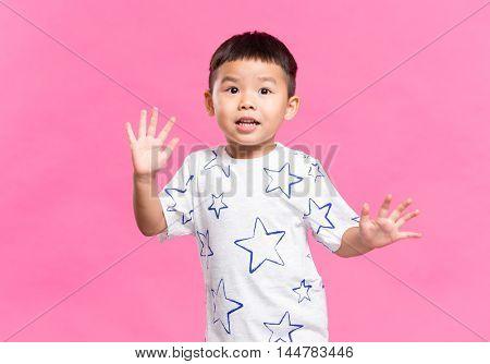 Asian little kid