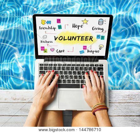 Volunteer Help Donation Hope Kindness Concept