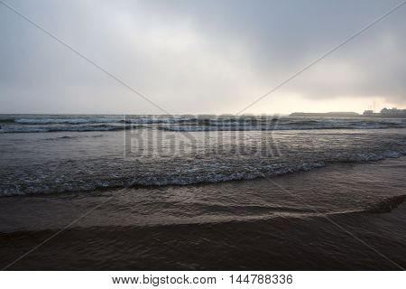 Beach, Coast And Wave In A Summer Day