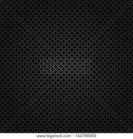 Seamless geometric modern pattern. Fine ornament with black elements