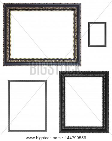 Set Of Black Frames