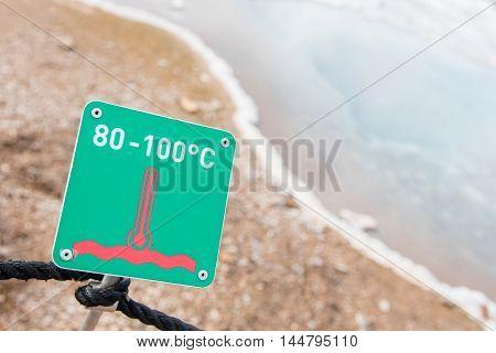 Sign, Caution Hot!