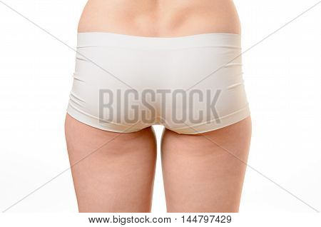 Trim Buttocks Of A Fit Healthy Woman