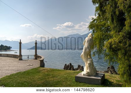 Italian Villa Garned On Como Lake