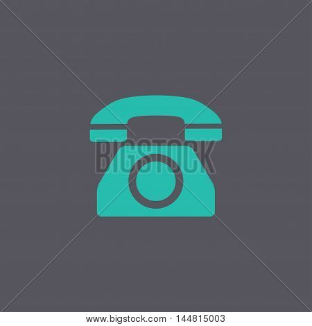 Vector Icon Of A Phone