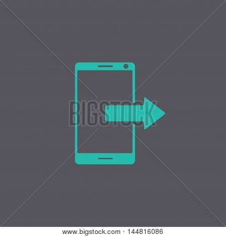 Smartphone Icon, Vector