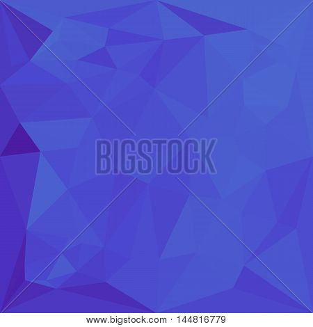 Low polygon style illustration of a bluebonnet abstract geometric background.
