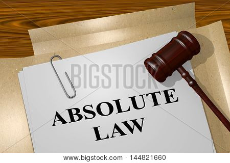 Absolute Law - Legal Concept