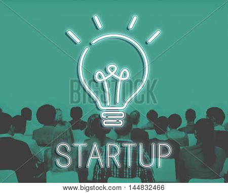 Startup Lightbulb Ideas Creativity Concept