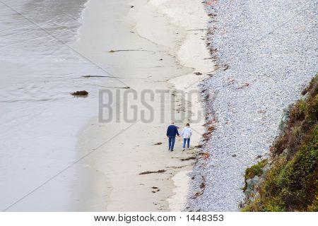 A Morning Walk Along The Beach